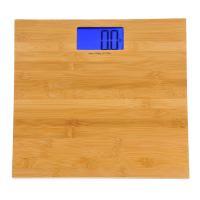 Kalorik Electronic Bathroom Scale, Bamboo Finish