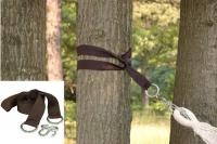 Bliss Hammocks HA-505 2 Tree Straps and S-Hooks - Brown