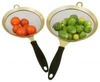 Cookpro Stainless Steel 2Pc Strainer Set - 6 Inch And 7 Inch
