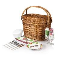 Picnic Time Romance- Willow Natural with Nouveau Grapes for 2