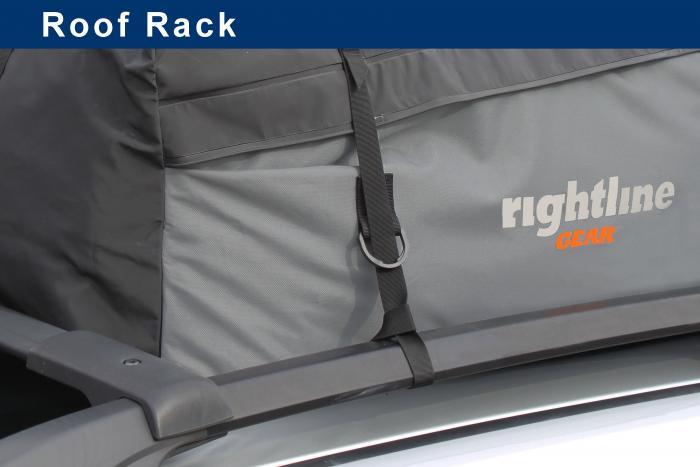 Rightline Gear 110S50 Sport Jr. Car Top Carrier, 9 cu ft.