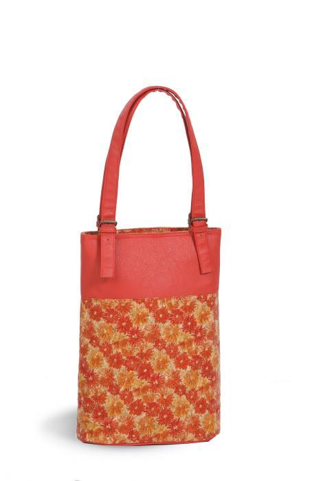 Picnic Plus Luxe Double Wine Bag - Floral Cork