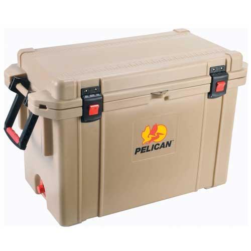 Pelican 95 Quart Elite Cooler - Tan