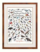 Steven M. Lewers & Associates Peterson's Backyard Birds of Southeast Poster
