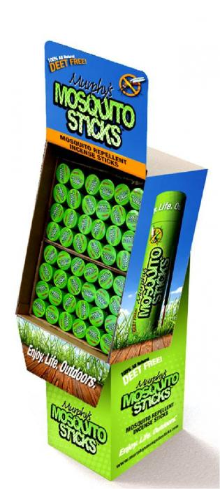 M-DOG Murphy's Mosquito Sticks Floor Display (48 pcs)
