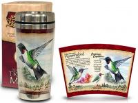 American Expeditions Hummingbird Steel Mug