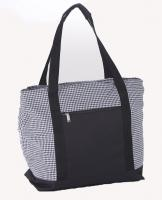 Picnic Plus Lido 2-in-1 Insulated Cooler Bag - Houndstooth