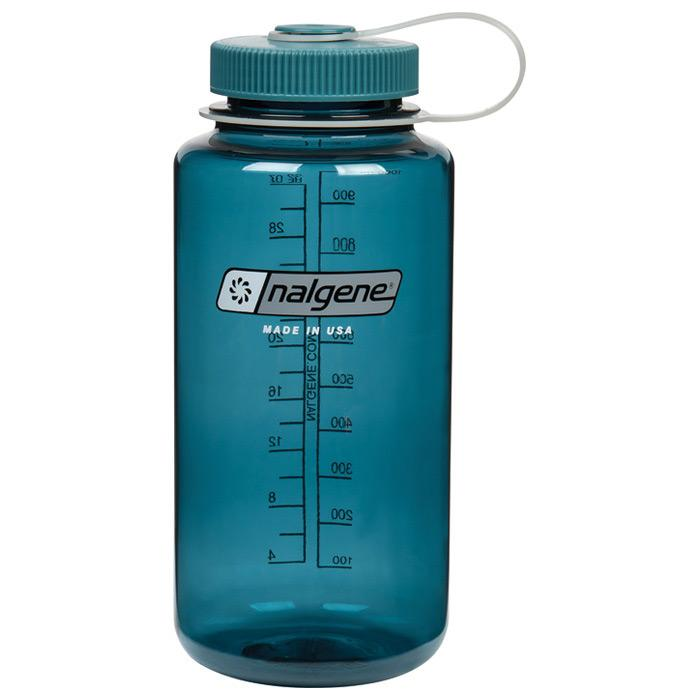 Nalgene 1qt  Wide Mouth Bottle - Cadet