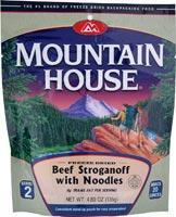 Mountain House Beef Stroganoff