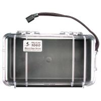 Pelican Products Micro Case Clear, Black, 9.38 x 5.56 x 2.63