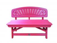 Bird's Choice Classic Bench-cardinal Red