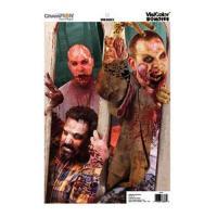 Champion Traps & Targets Zombie Visicolor Door Breach 50Pk 12X18