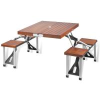 Picnic at Ascot Portable Wood Picnic Table