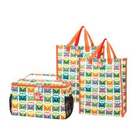 Love Bags Love Bus Chill Set, 3 in 1 Cooler/Tote Set