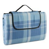 Portable picnic blankets comfortable chic picnic world picnic beyond light blue fold able fleece picnic blanket gumiabroncs Images