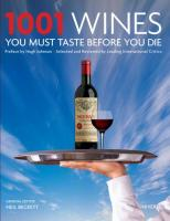 Random House 1001 Wines You Must Taste Before You Die