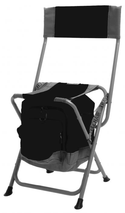 Travel Chair Anywhere Cooler Chair, Black