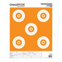 Champion Traps & Targets Shotkeeper 5Bulls Orange/White Large 12Pk