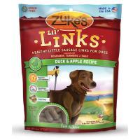 Zukes Lil' Links Duck & Apple - 6Oz