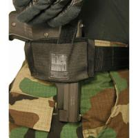 Blackhawk Product Group Ambidextrous Flat Belt Holster, Black