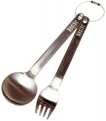 Therm-a-Rest Titanium Fork and Spoon