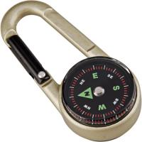 Munkees Carabiner Compass with Thermomtr