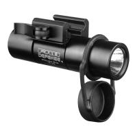 "378Lumen LED 1""dia Flashlight+PicatinnyMt"