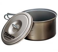 Evernew Titanium Nonstick Pot  0.9 L