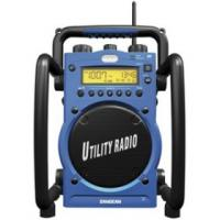 Sangean U3R Digital AM/FM Water-Resistant Utility Radio with Alarm