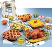 Anchor Hocking Anchor Hocking 32 Piece Expressions Deluxe Ovenware Set