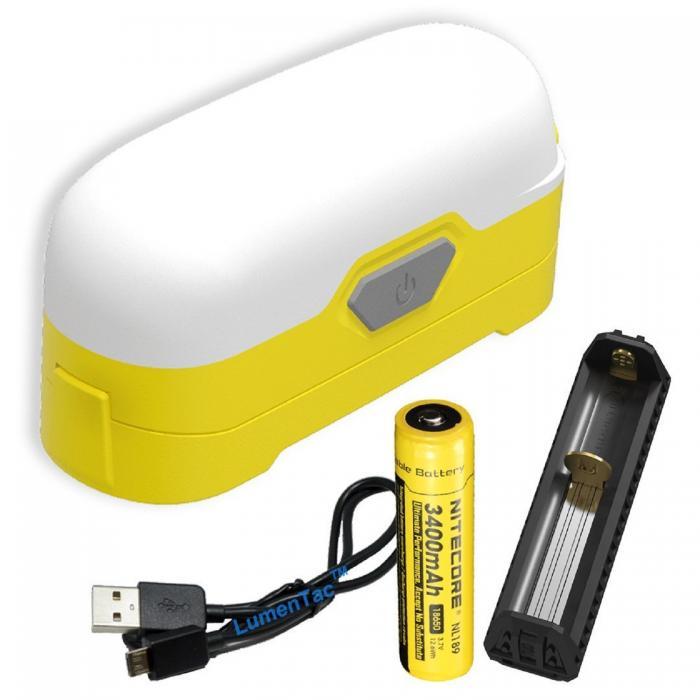 LR30 Portable Compact  Lantern, Sand Yellow, 205 lm, 18650