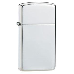 Zippo Sterling Silver Slim High Polish