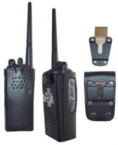 HL23 Hard Leather Carry Case for Kenwood Protalk Radio