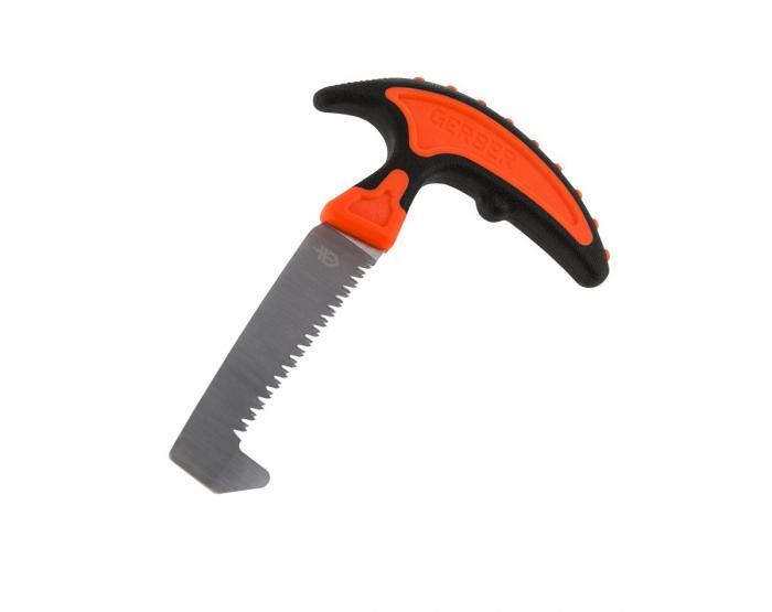 Gerber Vital Pack Saw, Black/Orange Handle