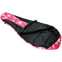 Ledge River Jr 0 Degree Youth Mummy Sleeping Bag, Pink