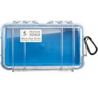 Pelican 1060 Micro Case w/Clear Lid - Blue