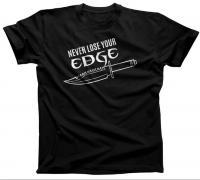 "Knife Depot ""Never Lose Your Edge"" T-Shirt (Unisex)"