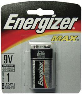 Energizer 522BP Long-Life Alkaline Batteries (9V 1-pk)