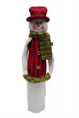 Primeware Wine Sock Noel Collection, Frosty