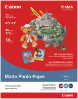 Canon 7981A004AB Matte Photo Paper (8.5 X 11; 50 Pk)