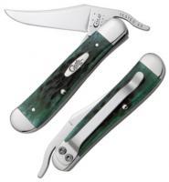 Case Cutlery Pocket Worn Bermuda Green Russlock