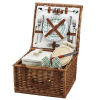 Picnic at Ascot Cheshire Basket for 2, Gazebo