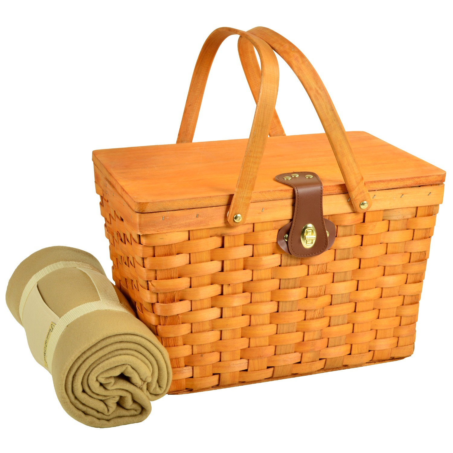 Picnic At Ascot Frisco Traditional American Style Picnic Basket For