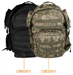 NcStar Tactical Backpack, Black