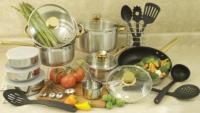 Cook Pro 31-Piece Cookware Set with Encapsulated Base