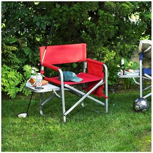 Picnic at Ascot Deluxe Folding Sports Chair - Black