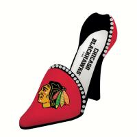 Evergreen Enterprises Chicago Blackhawks Decorative Team Shoe Wine Bottle Holder
