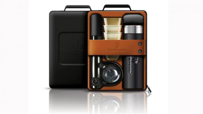 Handpresso Portable Espresso Picnic Set with Outdoor Case