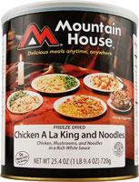 Mountain House Chicken Ala King & Noodles - 11 One Cup Servings