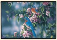 Fiddler's Elbow Bluebirds Doormat